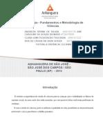 Fundamentos e Metodologia de Ciências 2015