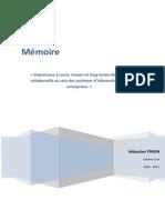 Importance à court, moyen et long terme des outils collaboratifs au sein des systèmes d'informations des entreprises