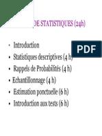 Cours de Statistique