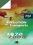 Evolution Es Transports 1970 2008 Ocde