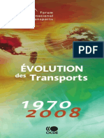 Evolution Es Transports 1970 2008 Ocde