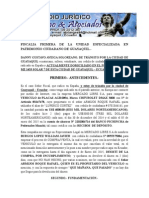 Alcance Fiscalia Danny Aveiga Solorzano