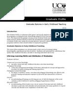 Graduate Profile Template Graduate