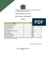 05 - Resultado Títulos - Edital 202-2014 - Charqueadas