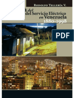 Venezuela. Historia Del Desarrollo Del Servicio Electrico - Rodolfo Telleria