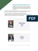 Liste Définitive Des Ministres Marocains en 2012