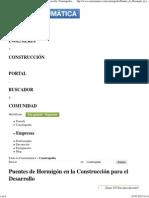 Puentes de Hormigón en la Construcción para el Desarrollo _ Construpedia, enciclopedia construcción