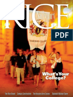 Rice Magazine Fall 2007