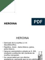 Heroina y Petidina