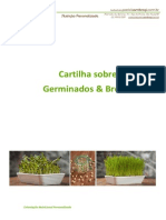 Cartilha Sobre Germinados e Brotos