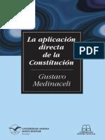 La Aplicación de La Constitución