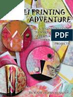 A Gelli Printing Adventure_ a Beginners Gu - Mahe Zehra Husain