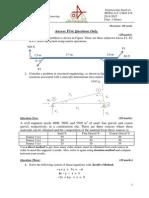 Engineering Analysis2 2014-2015 Final