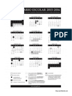 Calendario escolar-2015-2016 version preliminar