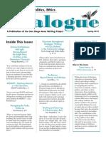 Dialogue Spring 2015