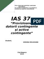 IAS 37 - PROVIZIOANE