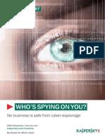 Kaspersky Cyber Espionage Whitepaper