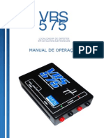 Manual VRS 575