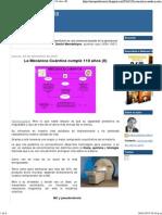 La Mecánica Cuántica Cumple 110 Años (II)II)