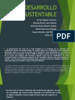 Presentacion power point d=desarrolo sustentables
