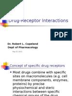 Drug Receptor Interactions
