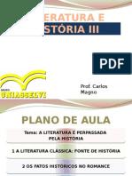 Estudo sobre Literatura e História