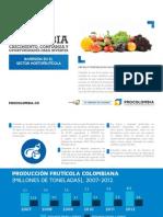 Inversión en El Sector Hortofruticola en Colombia