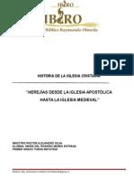 Herejias Historia de La Iglesia Maria Del Rosario Mares Estrada Turno Matutino