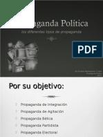 Tipos de propaganda politicas