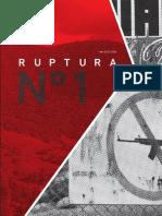Revista Ruptura Edición I