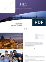 French School Masters Programs 2015