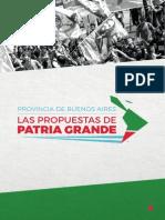 Las propuestas para la provincia