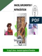 Dr Jorge Alonso - Nuevas Investigaciones Con Prod. Naturales
