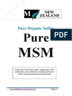 MSM Information Booklet