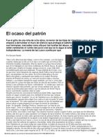Página_12 __ Las12 __ El Ocaso Del Patrón