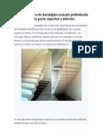 Zanca Escalera de Hormigón Armado Peldañeada Por La Parte Superior e Inferior