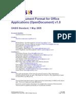 OpenDocument v1.0
