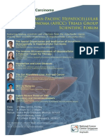 Invitation to the Scientifc Forum of the Asia-Pacific Hepatocellular Carcinoma Trials Group May 2015