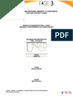 Ensamble y mantenimiento UNAD - Fase 3
