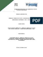 Estudio Sobre La Informalidad Empresarial en El Municipio de Cúcuta y Su Área de Influencia