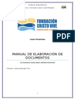 Manual de Elaboracion de Documentos