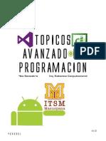 Portafólio de Evidencia (Tópicos Avanzados de Programación)