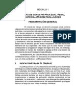 TEMAS DERECHO PROCESAL PENAL PARA JUECES