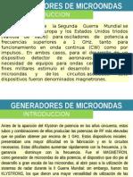 Generadores de Microondas