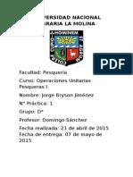 Informe 1.Oup.balances y Diagramas