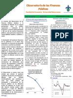 Observatorio de Finanzas Públicas 14-11-2012
