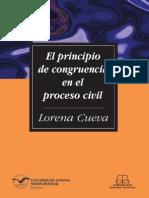 El principio de congruencia