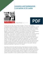 The Politics, Economics and Fundamental Rights of Grand Corruption in Sri Lanka
