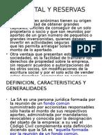 CAPITAL Y RESERVAS 1° PARTE.pptx