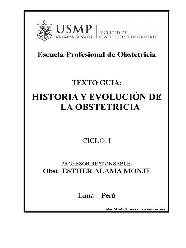 Historia y Evolución de La Obstetricia